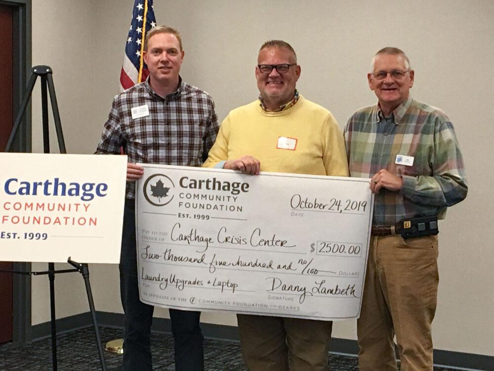 Carthage 2019 grants gallery 2 hero