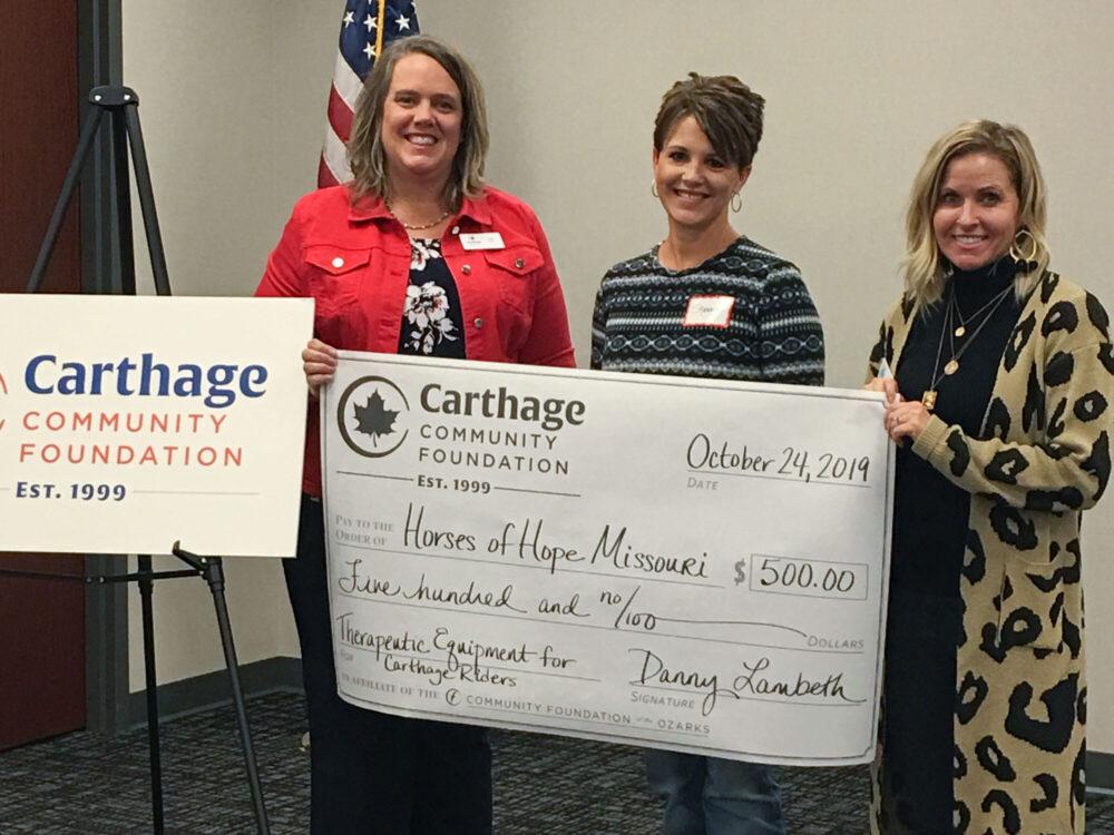 Carthage 2019 grants gallery 3 hero