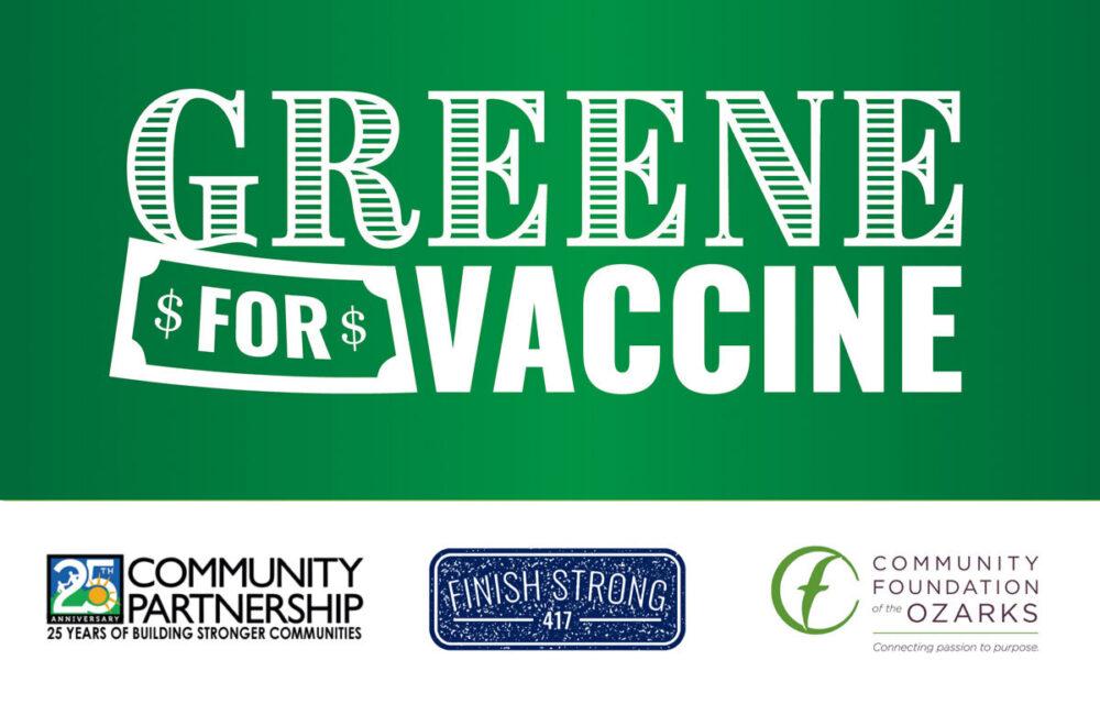 Greene for vaccine new logo