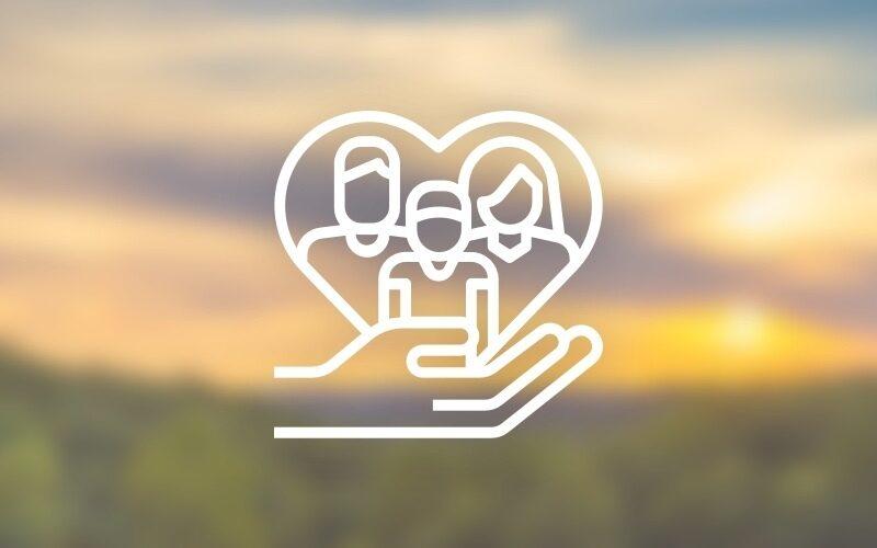 Social services nonprofit icon